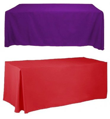 Blank 6ft Table Covers