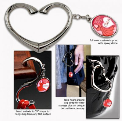 Heart Shape Bag Hanger