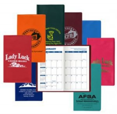 Standard Vinyl Monthly Pocket Planner