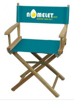 Director's Chair with Full Color Thermal Imprint