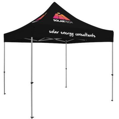 Premium 10' Square Tent (Full-Color Thermal Imprint, 3 Locations)