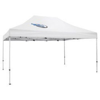 Deluxe 10' x 15' Tent (Full-Color Thermal Imprint, 1 Location)