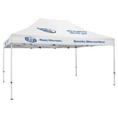 Deluxe 10' x 15' Tent (Full-Color Thermal Imprint, 8 Locations)