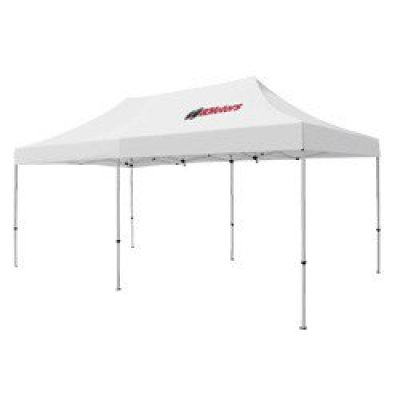 Deluxe 10' x 20' Tent (Full-Color Thermal Imprint, 1 Location)