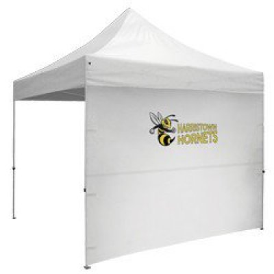 10' Full Wall w/Zipper Ends - Full-Color Thermal Imprint