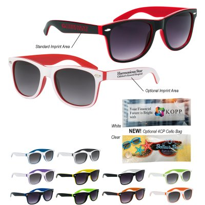 72994e0d980 Two-Tone Malibu Sunglasses