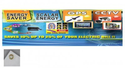 10ft x 3ft Full Color Vinyl Banner