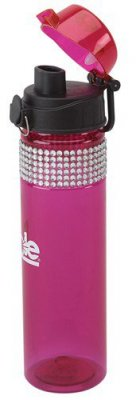 Pink Bling Water Bottle
