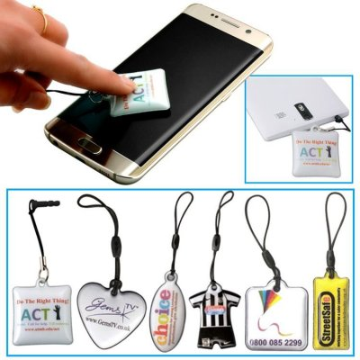 Custom PVC Cell Phone Screen Cleaner