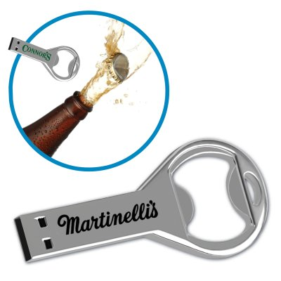 USB 2.0 Key Drive KB - with Bottle Opener - 2GB