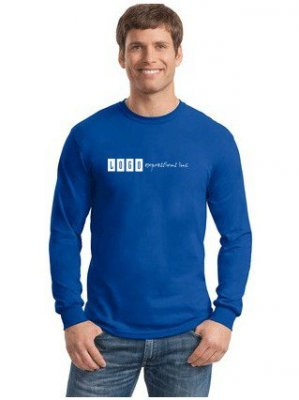 Long Sleeve T-Shirt 100% Medium Weight Cotton