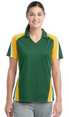 Ladies Tricolor Micropique Sport-Wick Polo