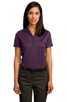 Ladies Contrast Stitch Performance Pique Polo