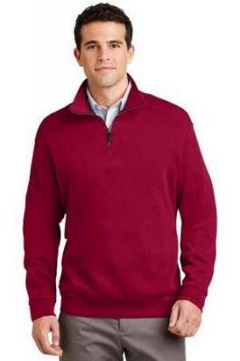 Port Authority - Flatback Rib 1/4 Zip Pullover