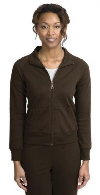 Ladies Silk Touch Mesh Knit Jacket