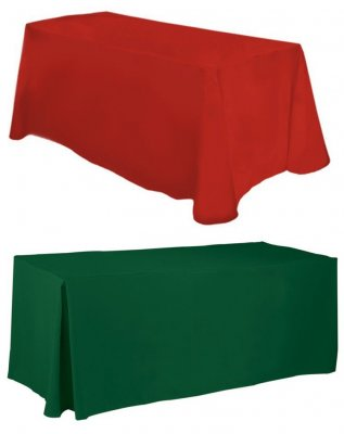 Blank 4ft Table Covers