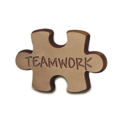 Case of 50 Teamwork Chocolate Puzzle Pieces