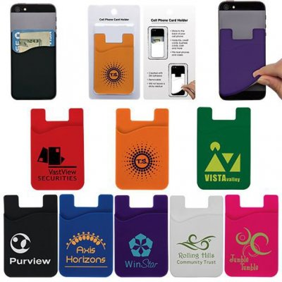 Cell Phone Business Card Holder