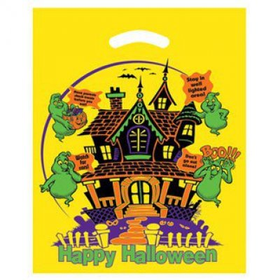 Haunted House Yellow Halloween Die Cut