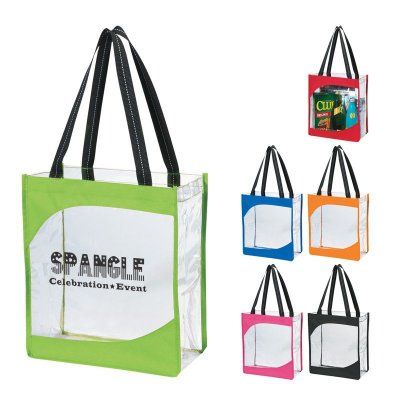 Clear Wave Tote Bag