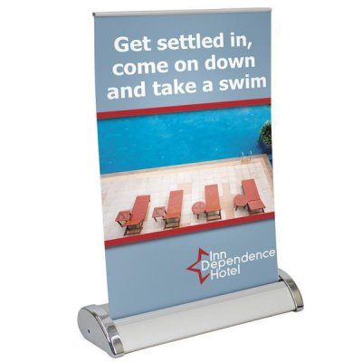 "Small Mini Promo Retractor Kit 8.25"" x 11.25"""
