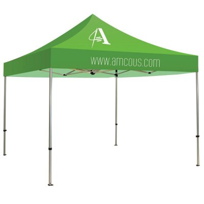 10ft x 10ft Steel Framed Canopy with 2-Location 1-Color Imprint