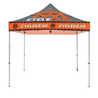10ft x 10ft Steel Framed Canopy with Full Color Imprint