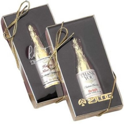 Chocolate Champagne Bottle 1oz