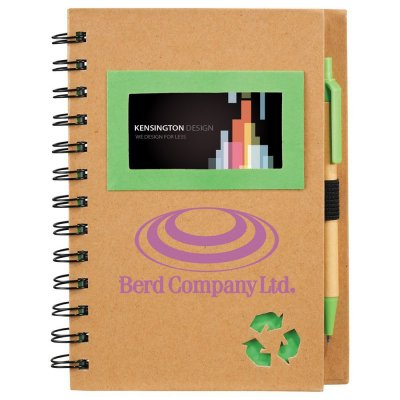 Eco Star Notebook & Pen