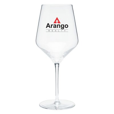 20 oz Clear Prism Wine Glass
