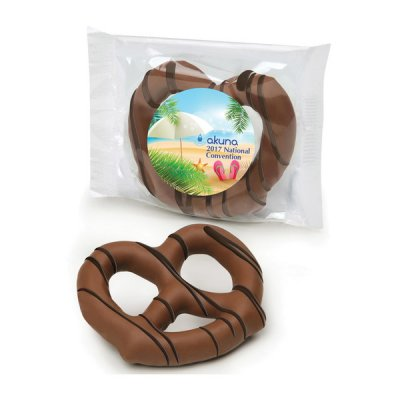 Chocolate Dipped Pretzel 8oz.