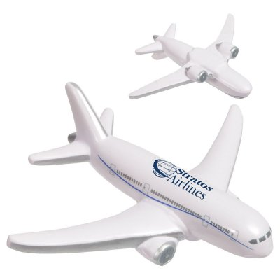 Airliner Stress Reliever White/Gray