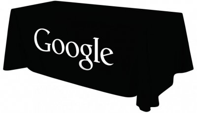 6ft Tablecloth w/ Black or White Imprint