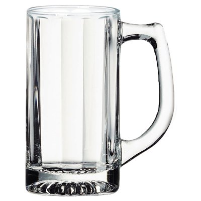 CLEAR GLASS OPTIC SPORTS STEIN