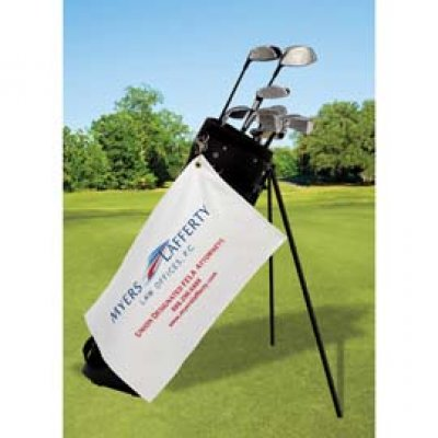 Made In USA Velour Golf Towel