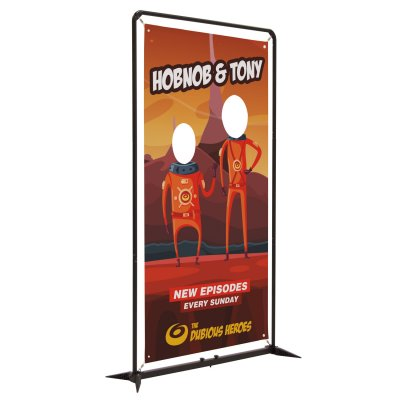 4.5' FrameWorx Double Face Cutout Kit (Single-Sided)