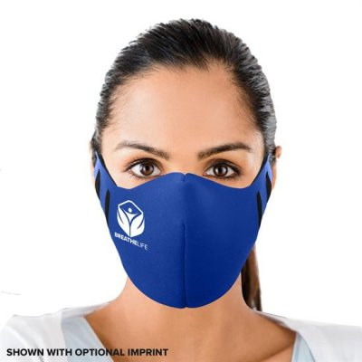 Fitted Face Mask - 1 Color Imprint
