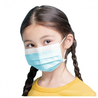 3-Ply Disposable Child Face Mask ( Kids Ages 4-12 )
