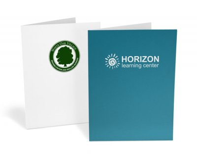 Standard Presentation Folders – 1-Color Ink Printed