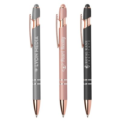 Ellipse Softy Rose Gold Metallic w/ Stylus - Laser