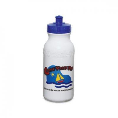Super Value Bike Bottle in White