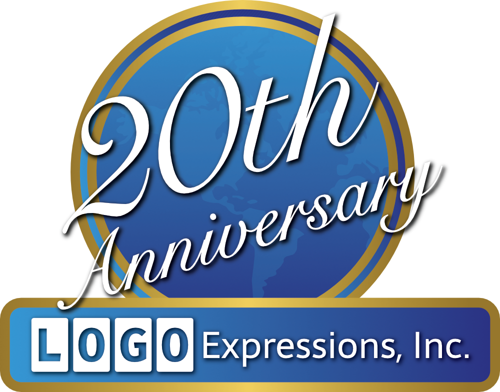 LOGO Expressions' 20th Anniversary Logo